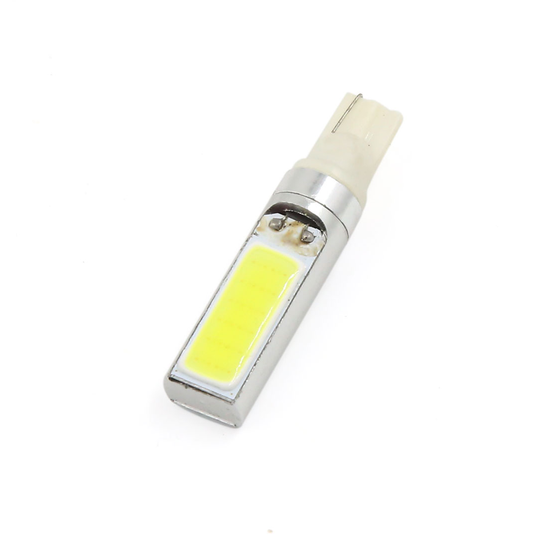 T10 W5W 194 168 7.5W COB LED Side Indicator Lamp Wedge Light Bulb White Interior