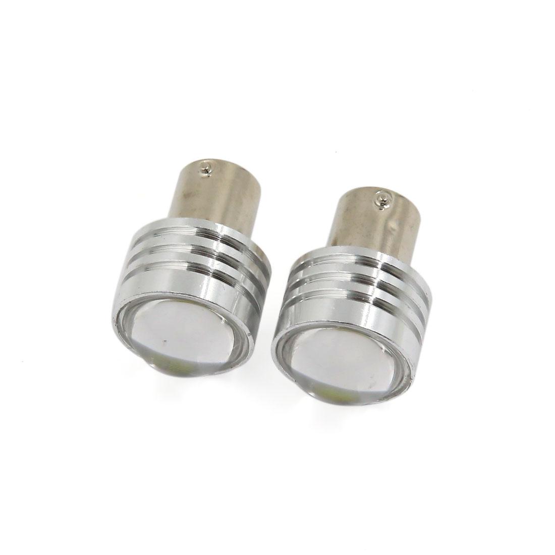 1156 BA15S 1141 White COB LED Turn Signal Light Bulbs for RV Camper Trailer Car