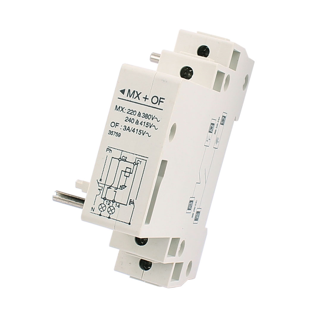 220V MX+OF Leakage Protection Shunt Release Auxiliary Switch for Circuit Breaker