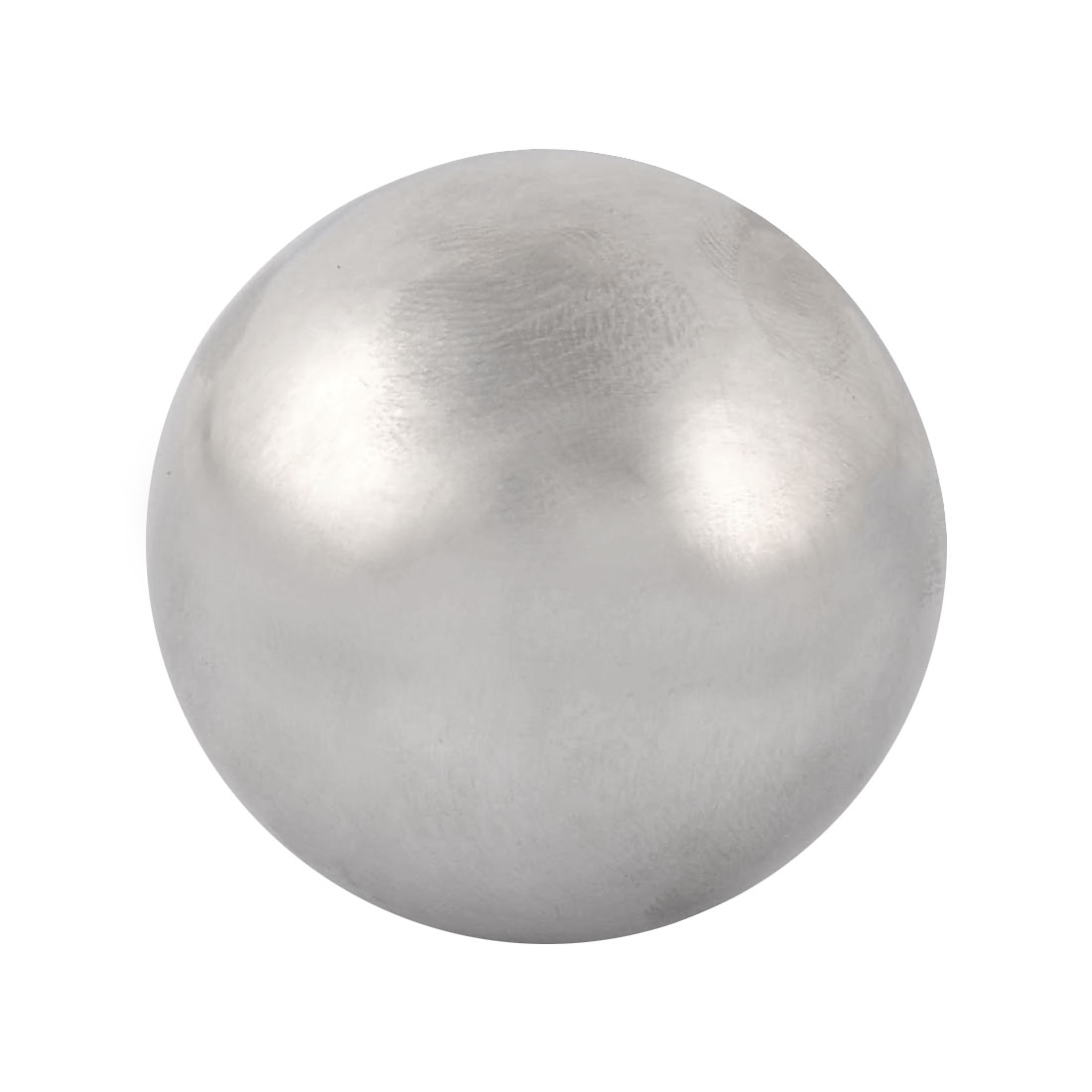 Stainless Steel Ball Shaped Soda Juice Physical Cooling Ice Cube Silver Tone 4cm Diameter