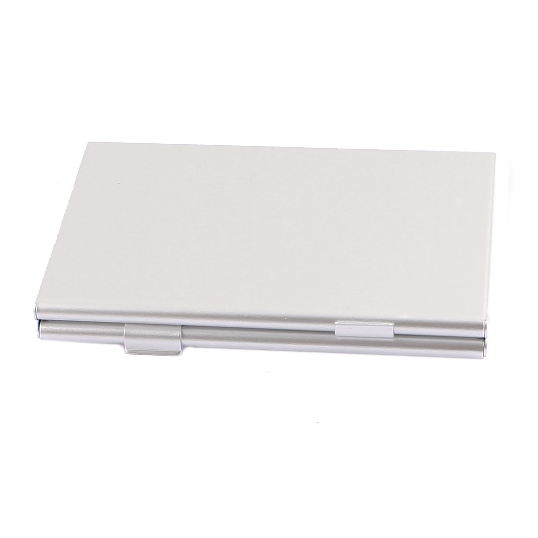Aluminum Alloy 6-Slot Micro SD Memory Card Storage Box Container Holder Silver Tone