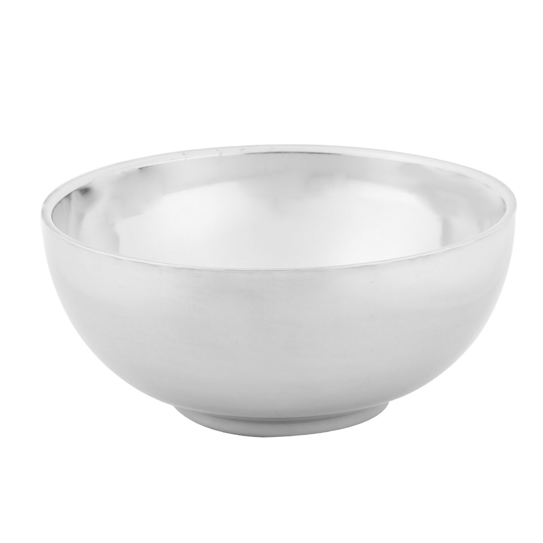 Home Kitchen Stainless Steel Tableware Hot Heat Resistant Dinner Soup Rice Bowl 13cm Dia