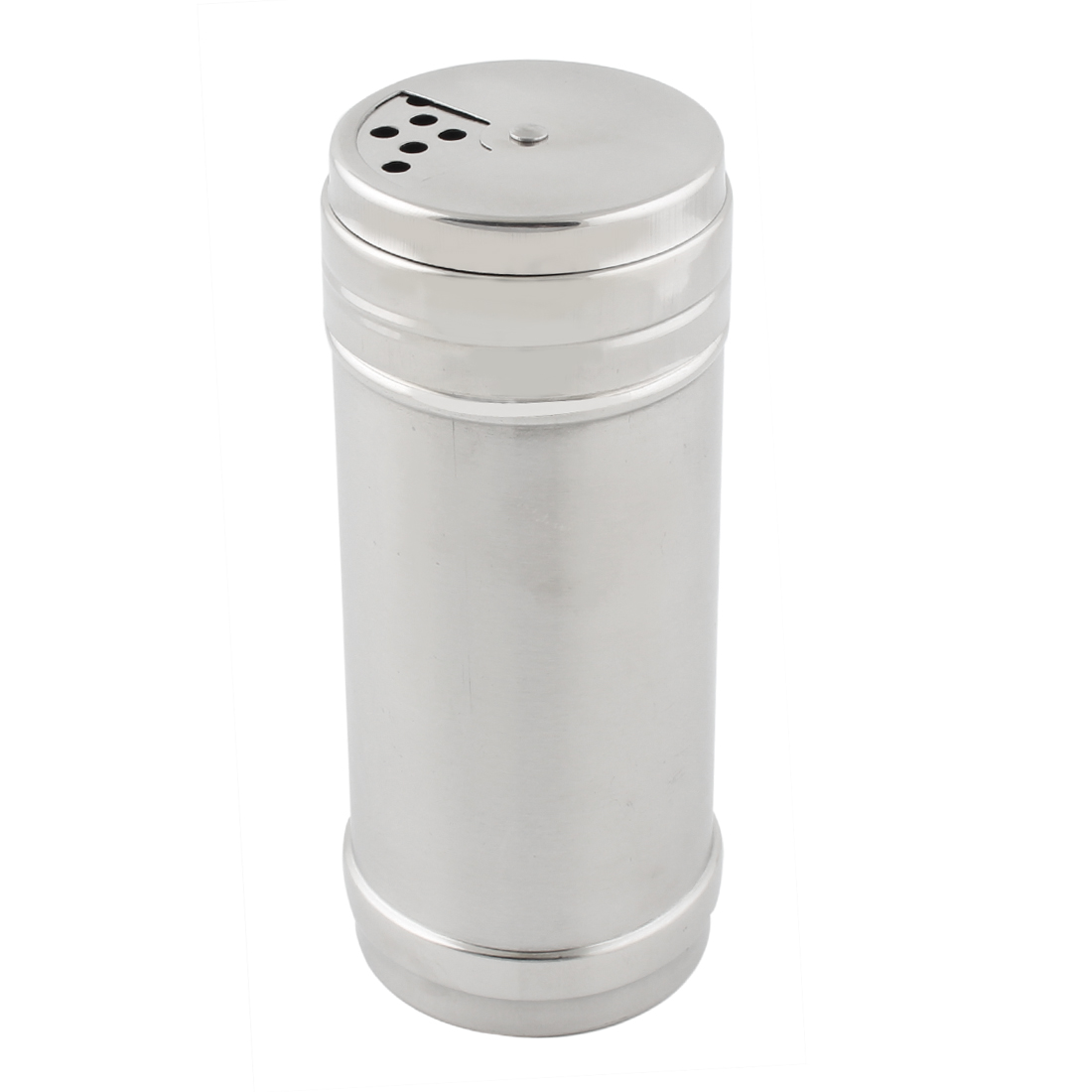 Kitchen Stainless Steel Salt Pepper Spices Condiment Container Box Case 6.3 x 15.5cm