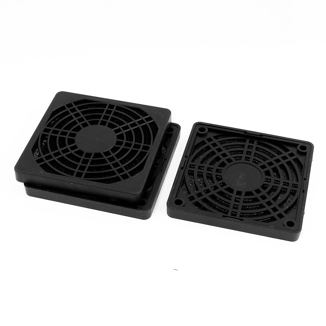 3pcs 86mm x 86mm Dustproof Case PC Computer Case Fan Dust Filter