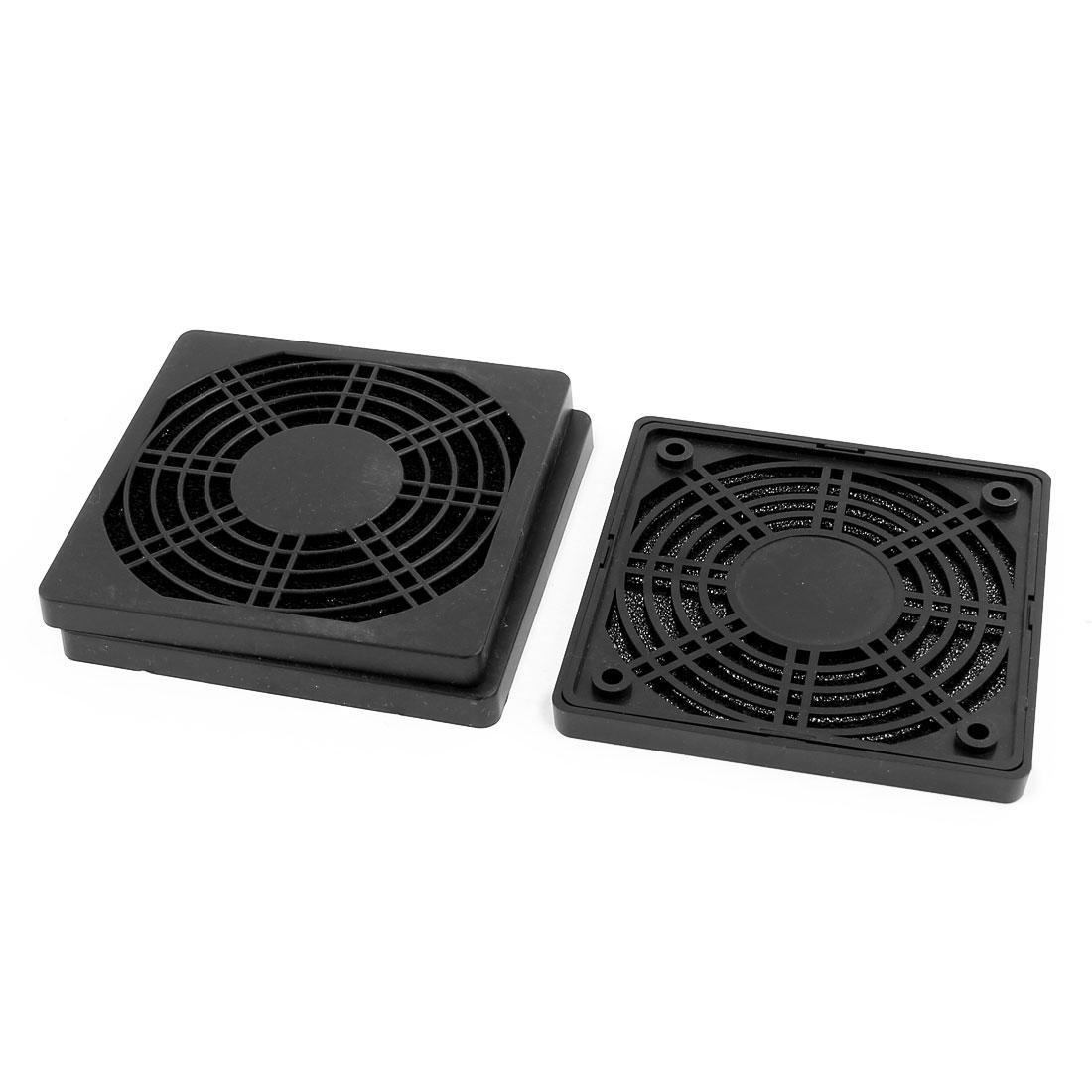 3pcs 115mm x 115mm Dustproof Case PC Computer Case Fan Dust Filter