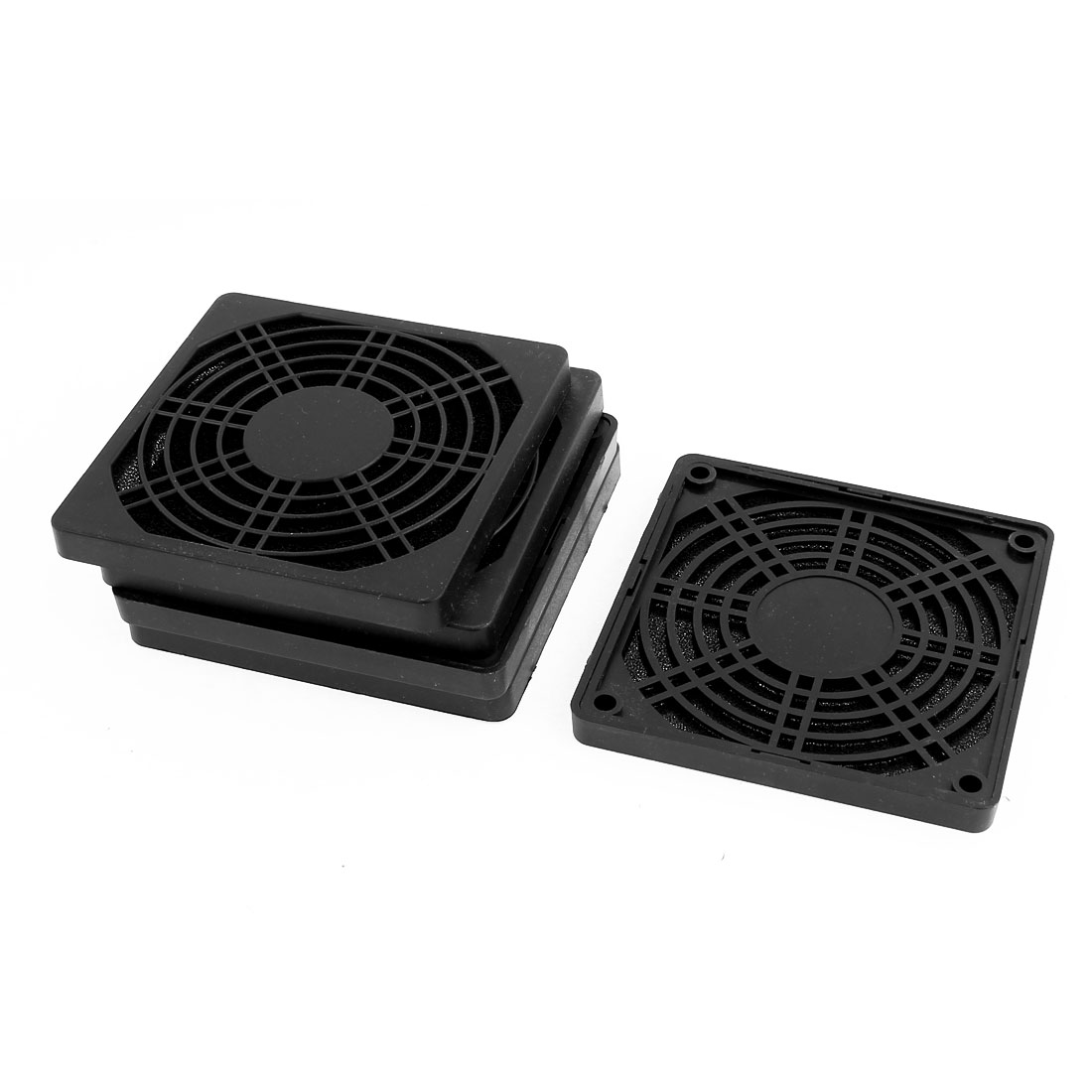 5pcs 97mm x 97mm Dustproof Case PC Computer Case Fan Dust Filter