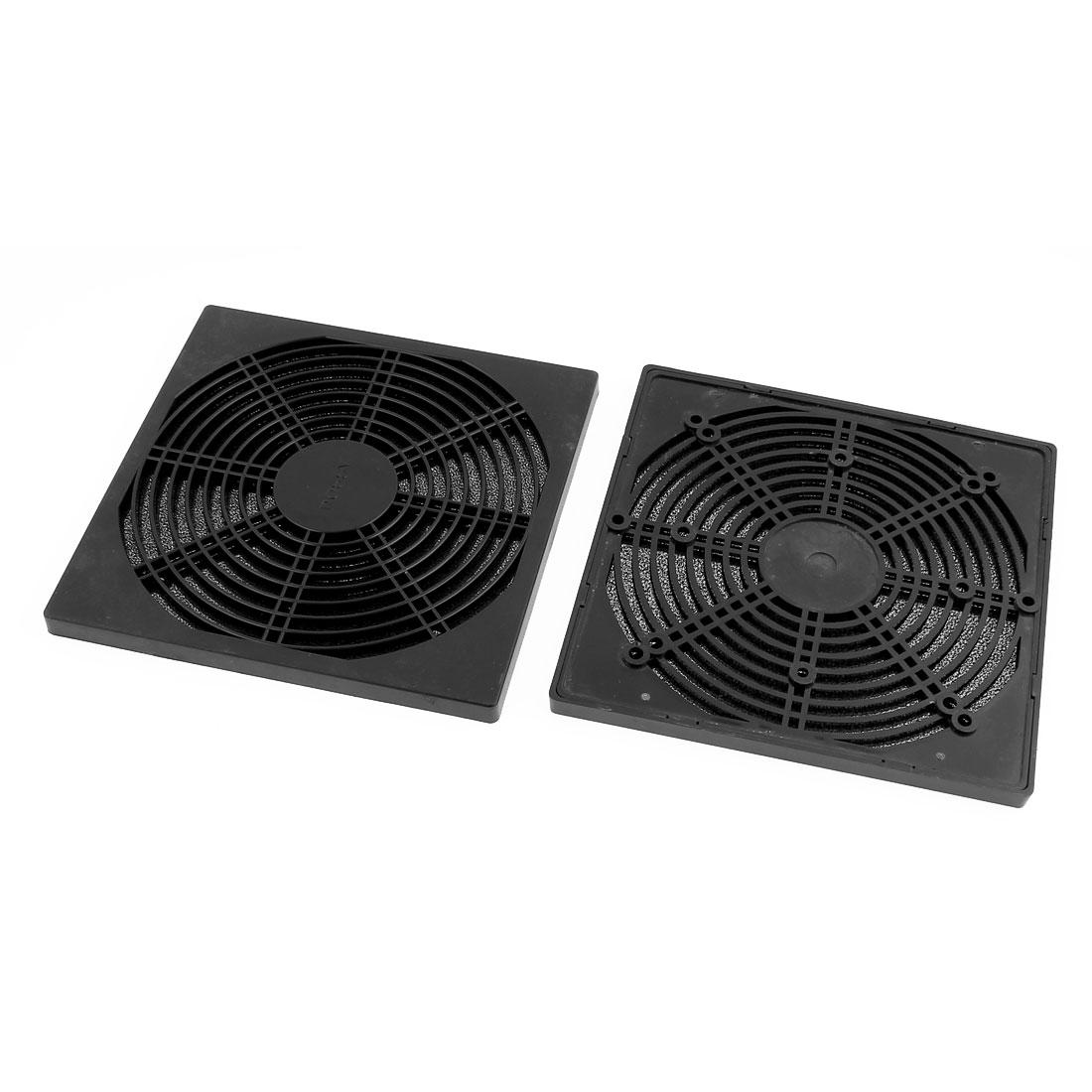 2pcs 177mm x 177mm Dustproof Case PC Computer Case Fan Dust Filter