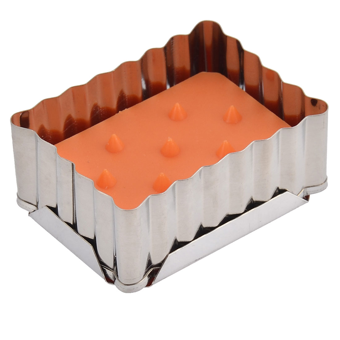 Household Kitchen Metal Rectangle Spring Biscuit Cake Cookie Cutter Mould Mold