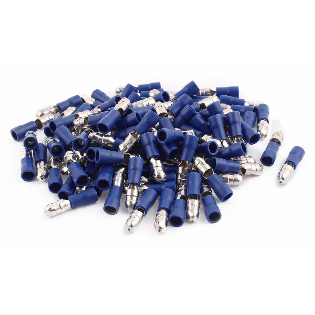 100Pcs MPD2-195 16-14 AWG Wire Insulated Male Terminal Connector