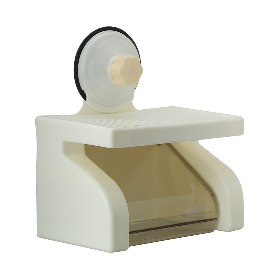 Household Washroom Plastic Suction Cup Toilet Paper Tissue Holder Bracket