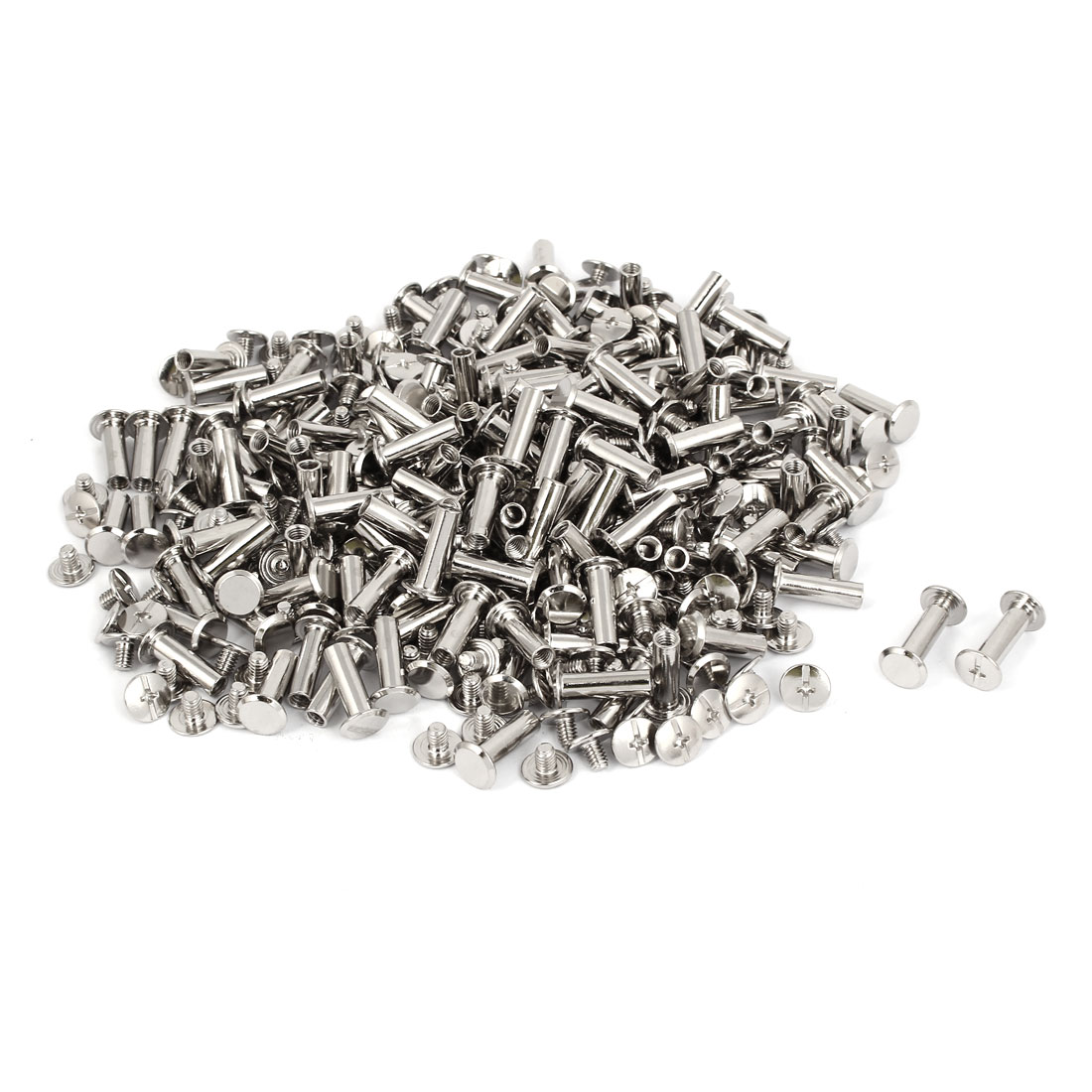 M5x16mm Binding Chicago Screw Post 200pcs for Photo Albums Scrapbook