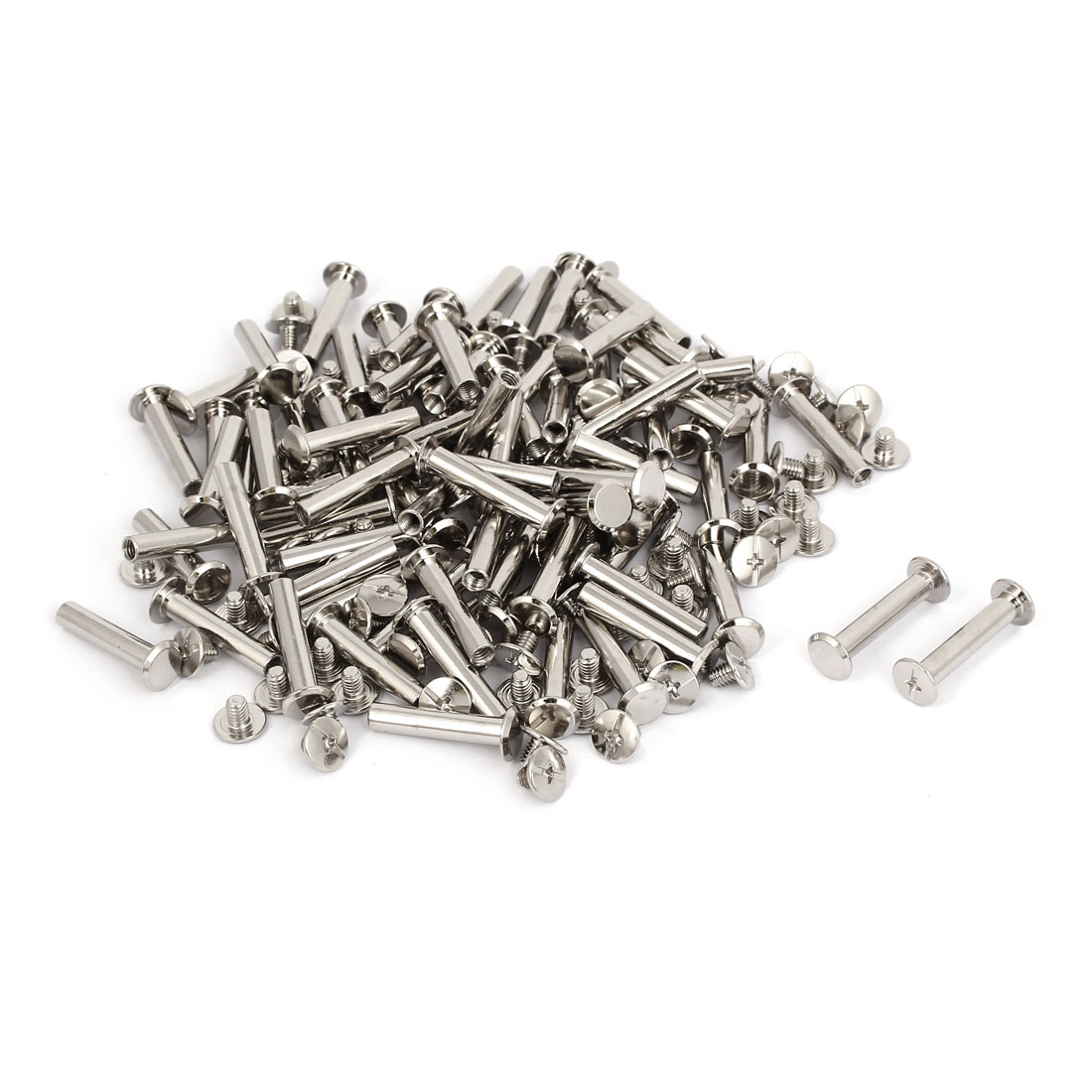 M5x25mm Binding Chicago Screw Post 100pcs for Photo Albums Scrapbook