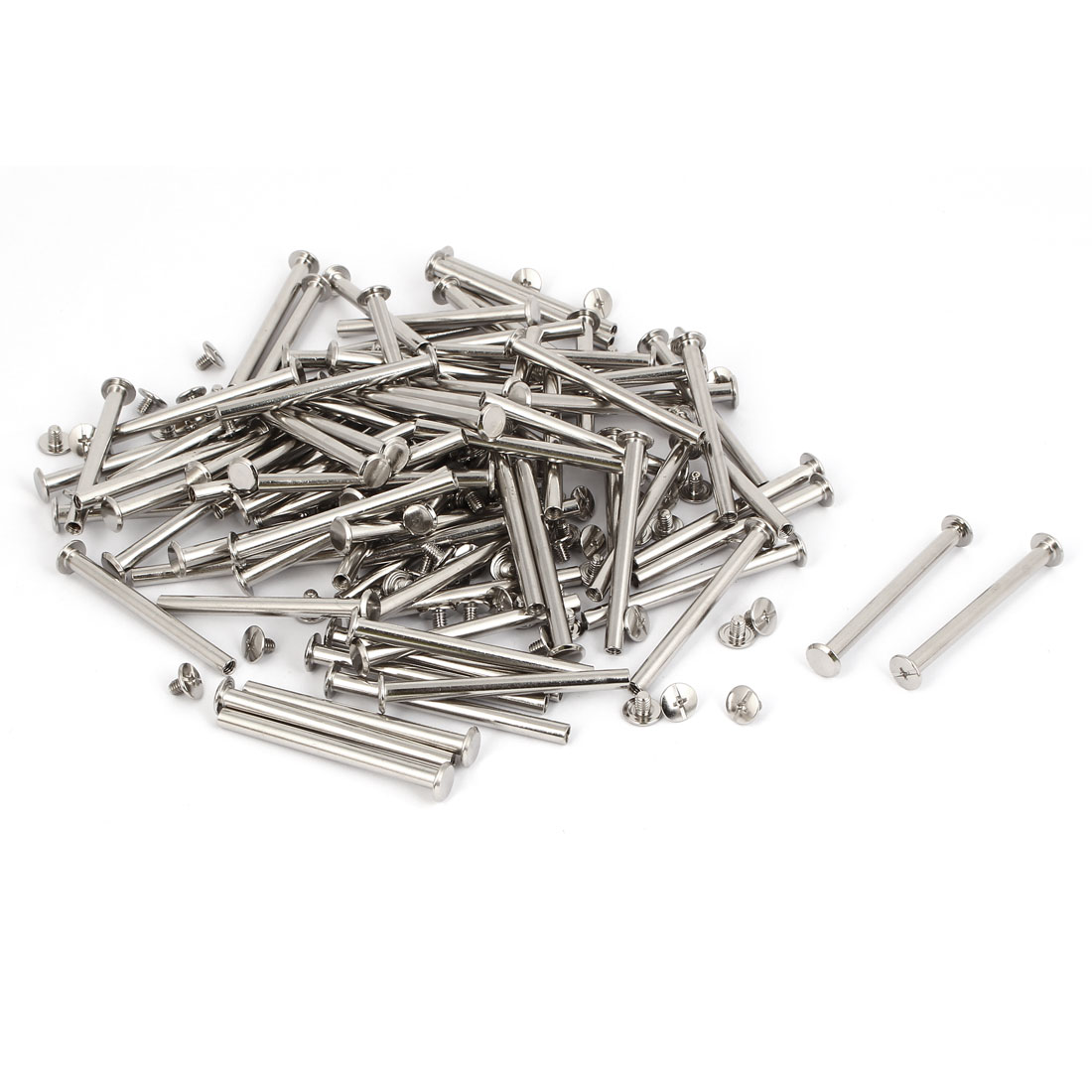 M5x58mm Binding Chicago Screw Post 100pcs for Photo Albums Scrapbook
