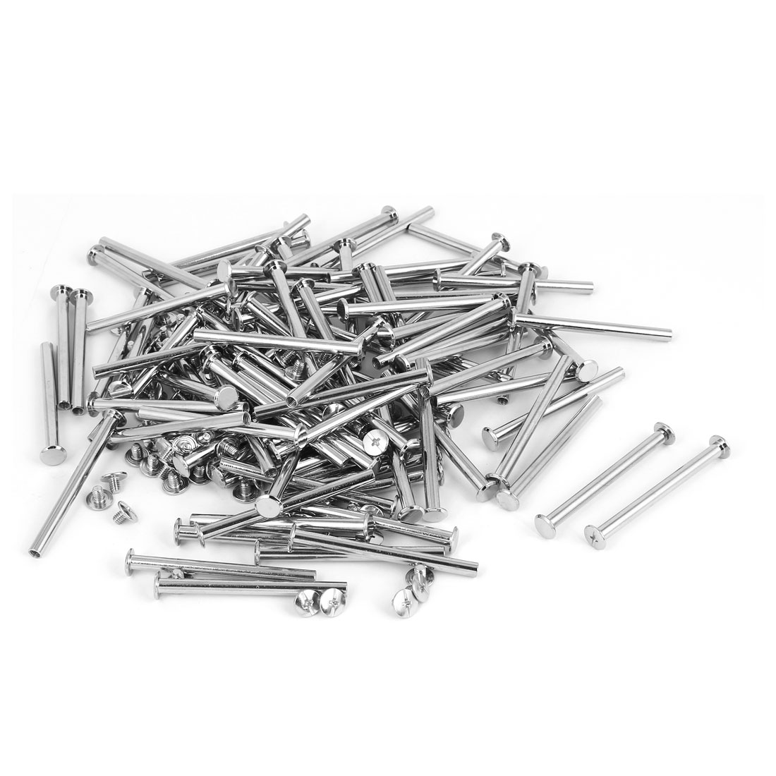 M5x60mm Binding Chicago Screw Post 100pcs for Photo Albums Scrapbook