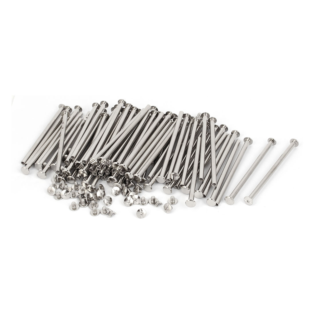 M5x95mm Binding Chicago Screw Post 100pcs for Photo Albums Scrapbook