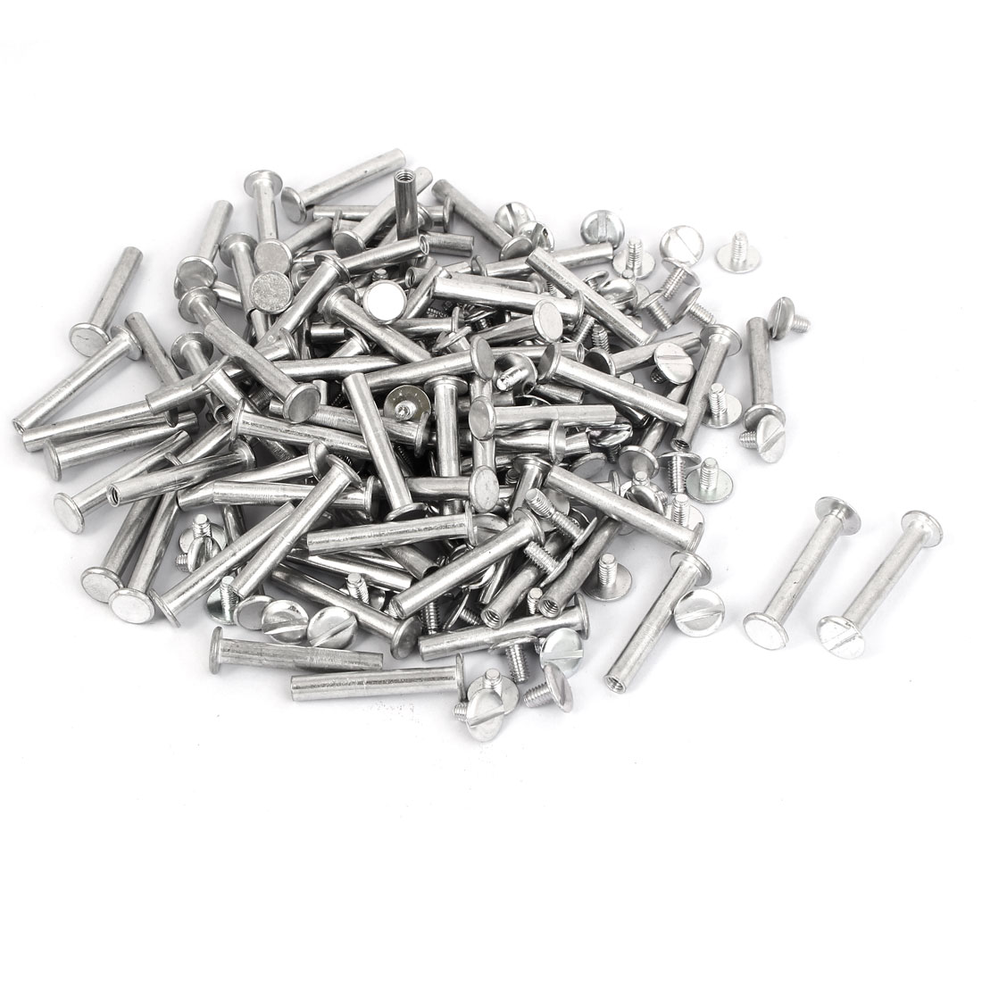 M5x32mm Aluminum Binding Screw Post 100pcs for Photo Albums Scrapbook