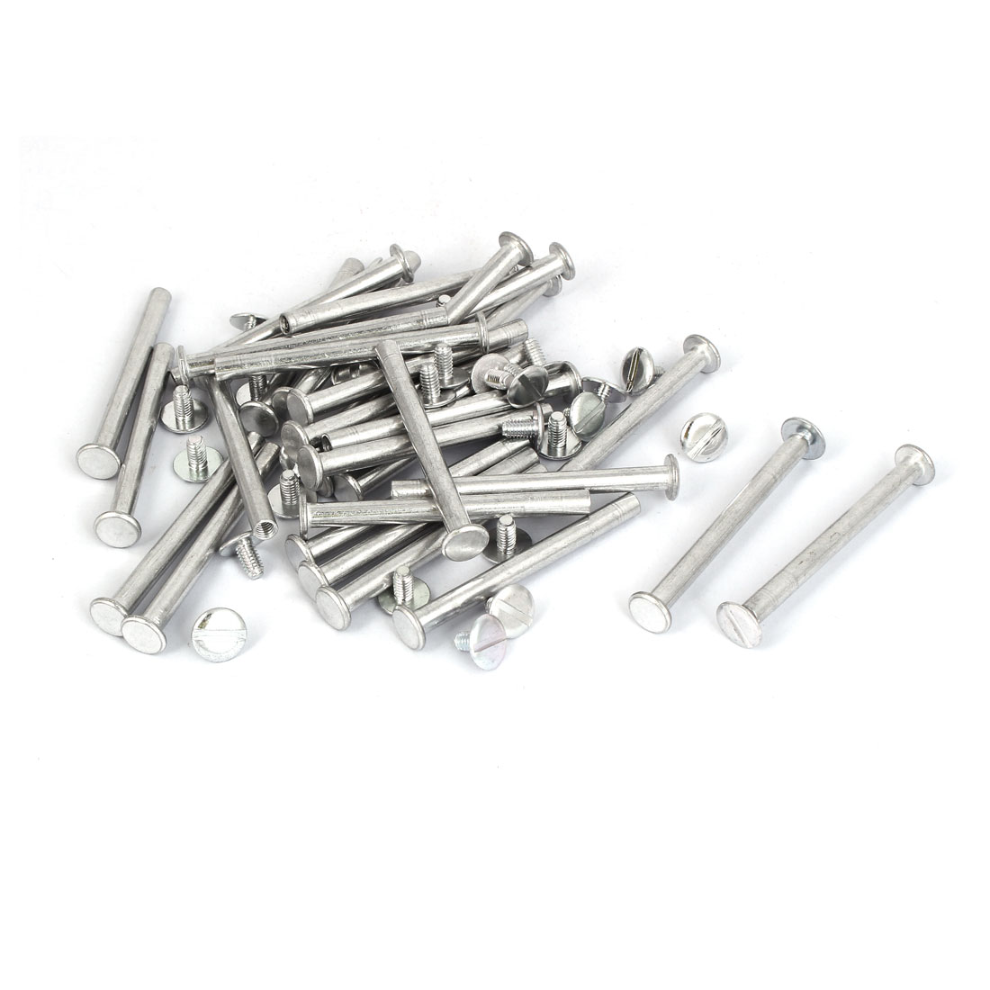 M5x55mm Aluminum Binding Screw Post 30pcs for Photo Albums Scrapbook