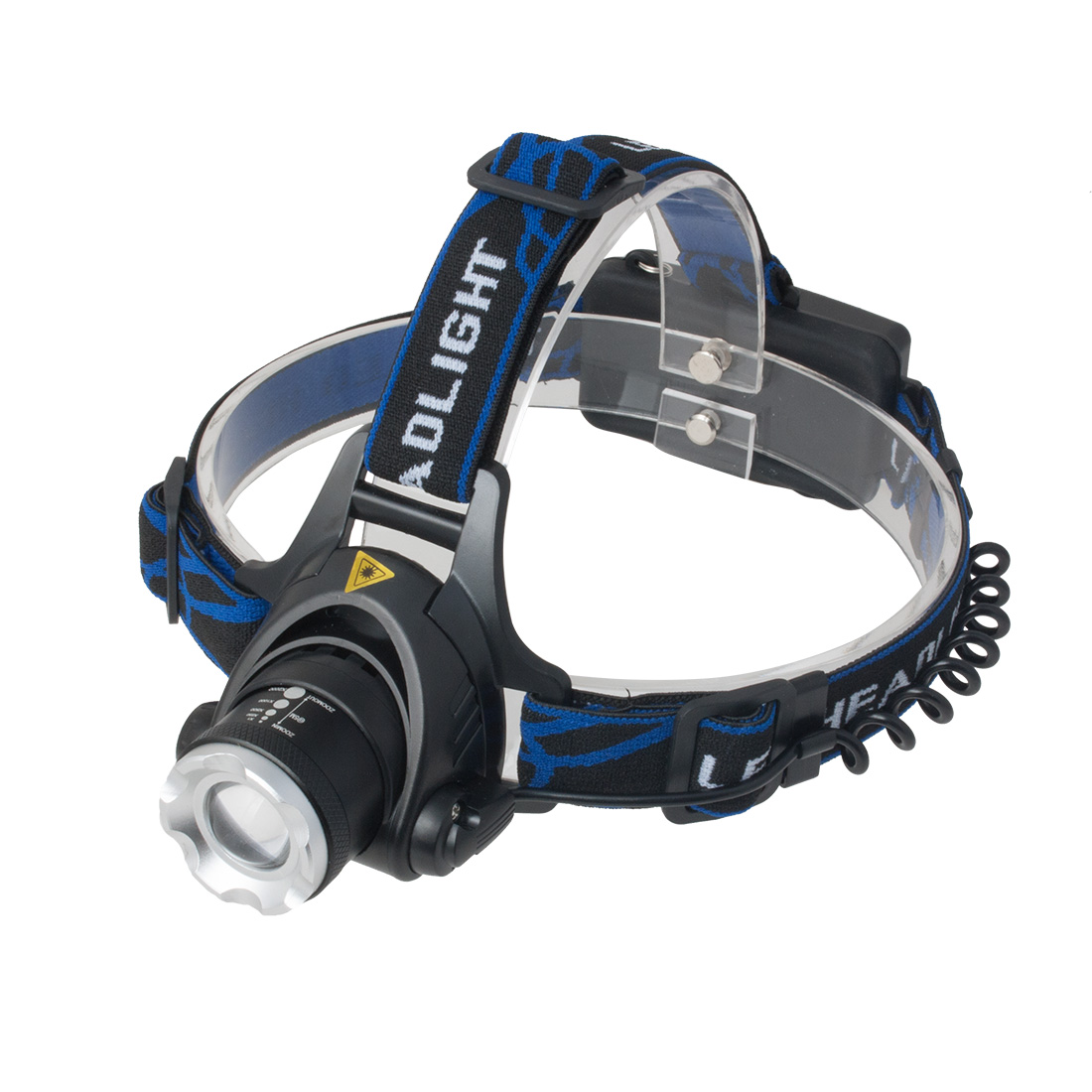 Scretchable Zoom 350 Lumens LED Headlamp Fishing Camping Head Light Super Bright Torch Lamp