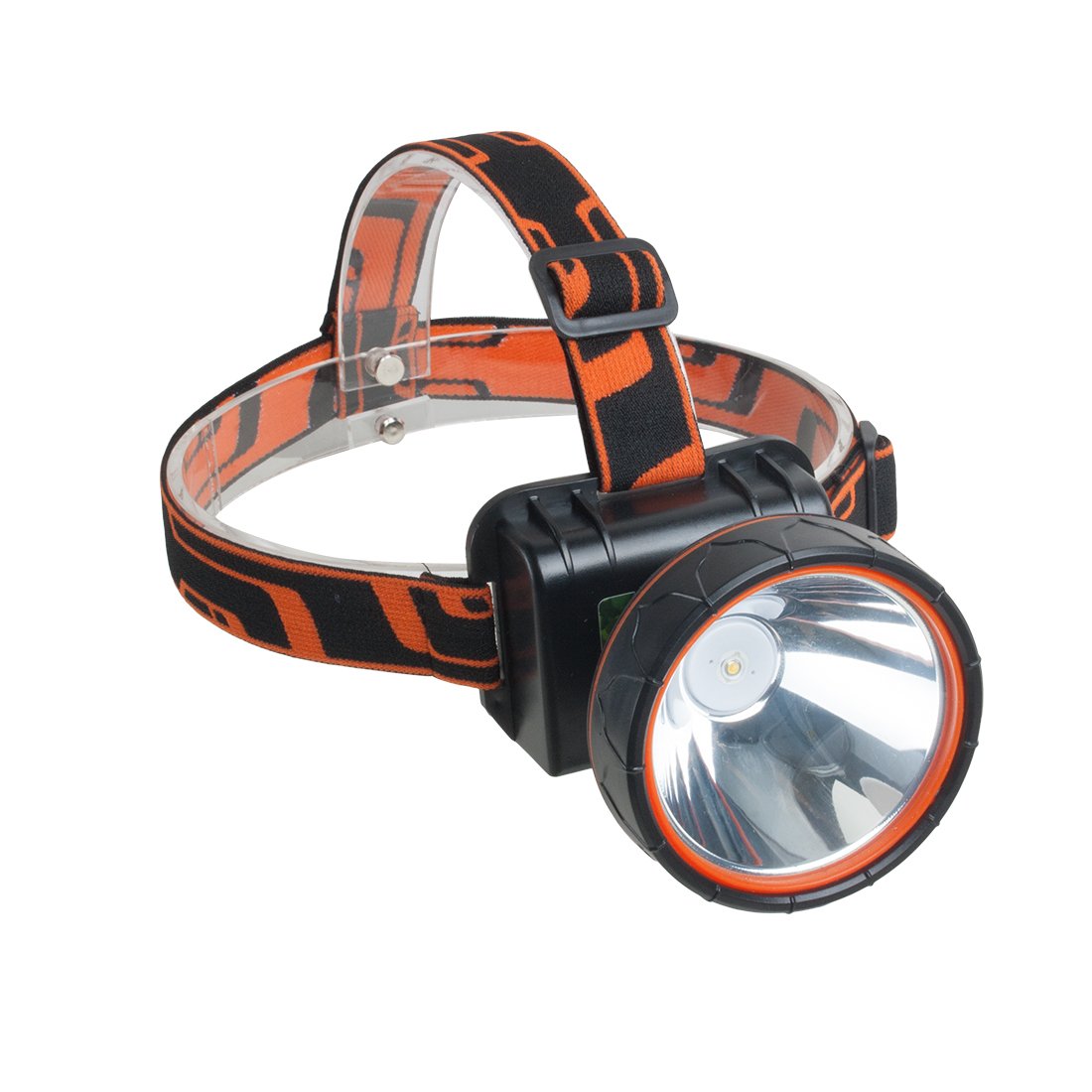 Rechargeable Battery LCD Display LED Headlamp Fishing Camping Head Light Super Bright Lamp Yellow