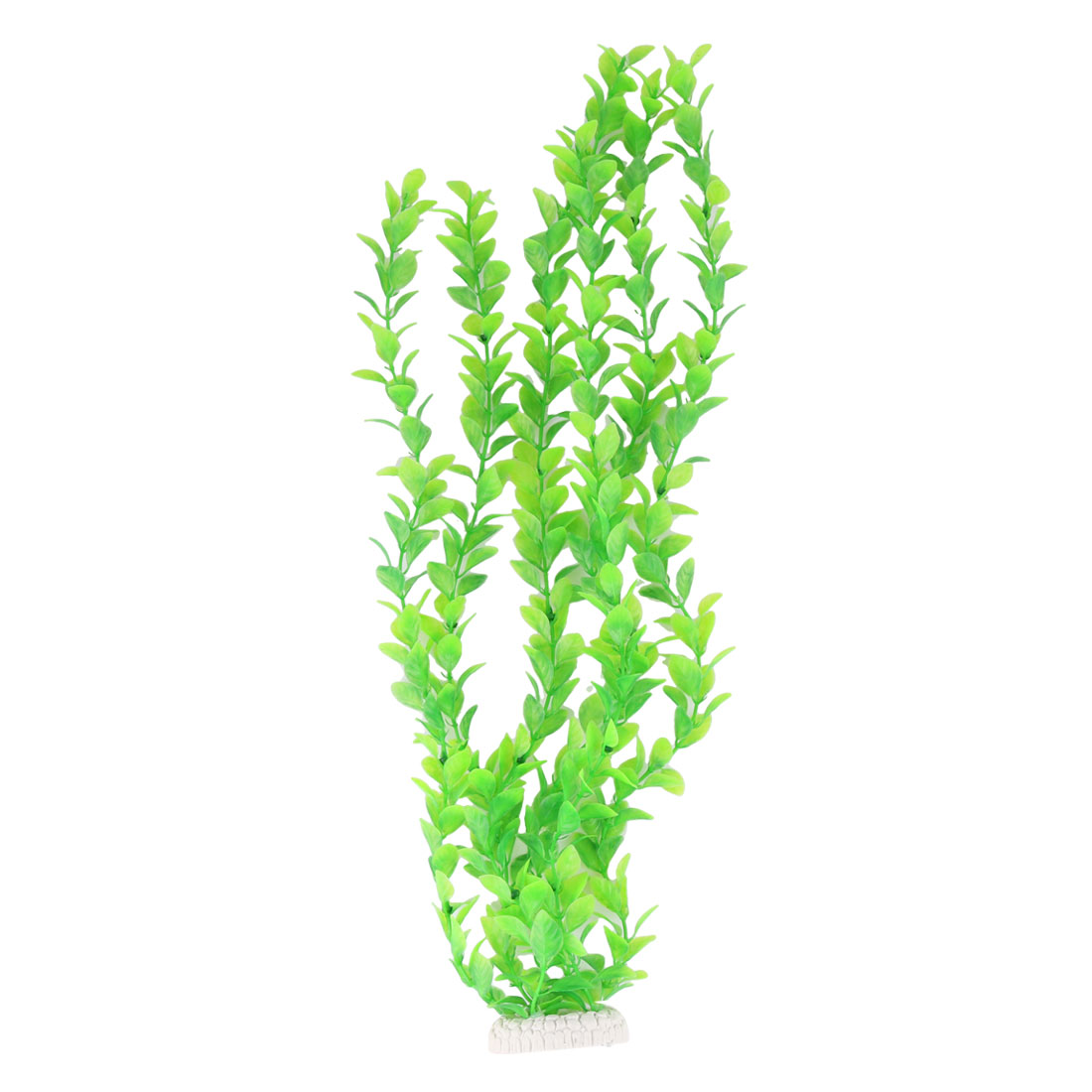 Aquarium Fish Bowl Plastic Artificial Plant Grass Ornament Green 52cm Height