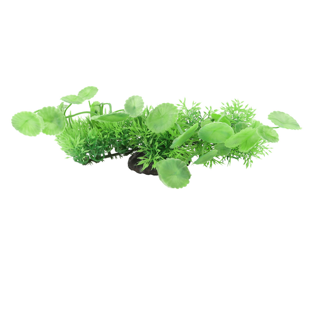 Aquarium Fish Tank Artificial Fake Plastic Water Plant Grass Decor Green 8cm Height