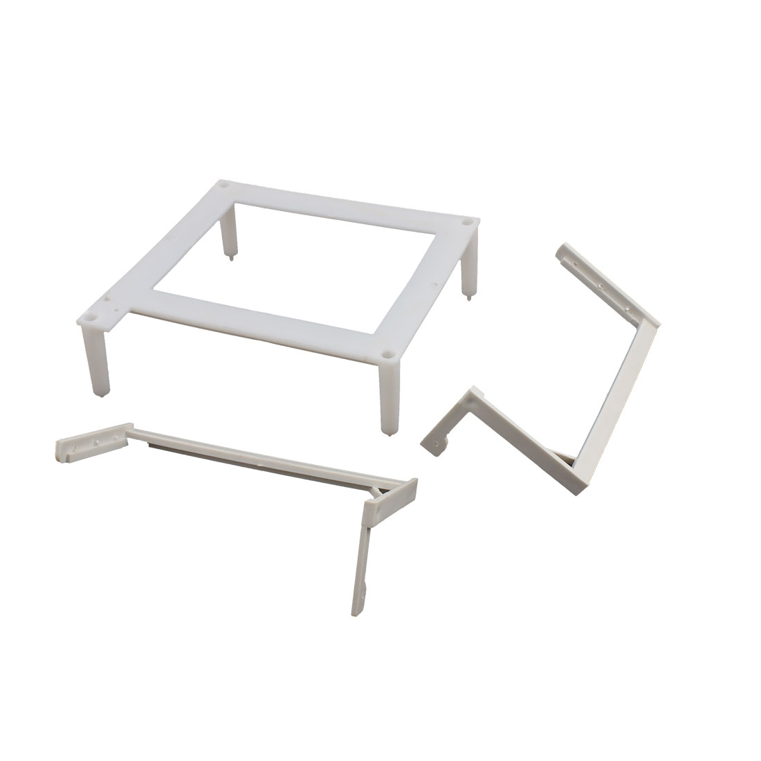 5CM Height Spacer Frame for PC Mother Board w 2 Pcs L Shape Spacer w Video Card Braket
