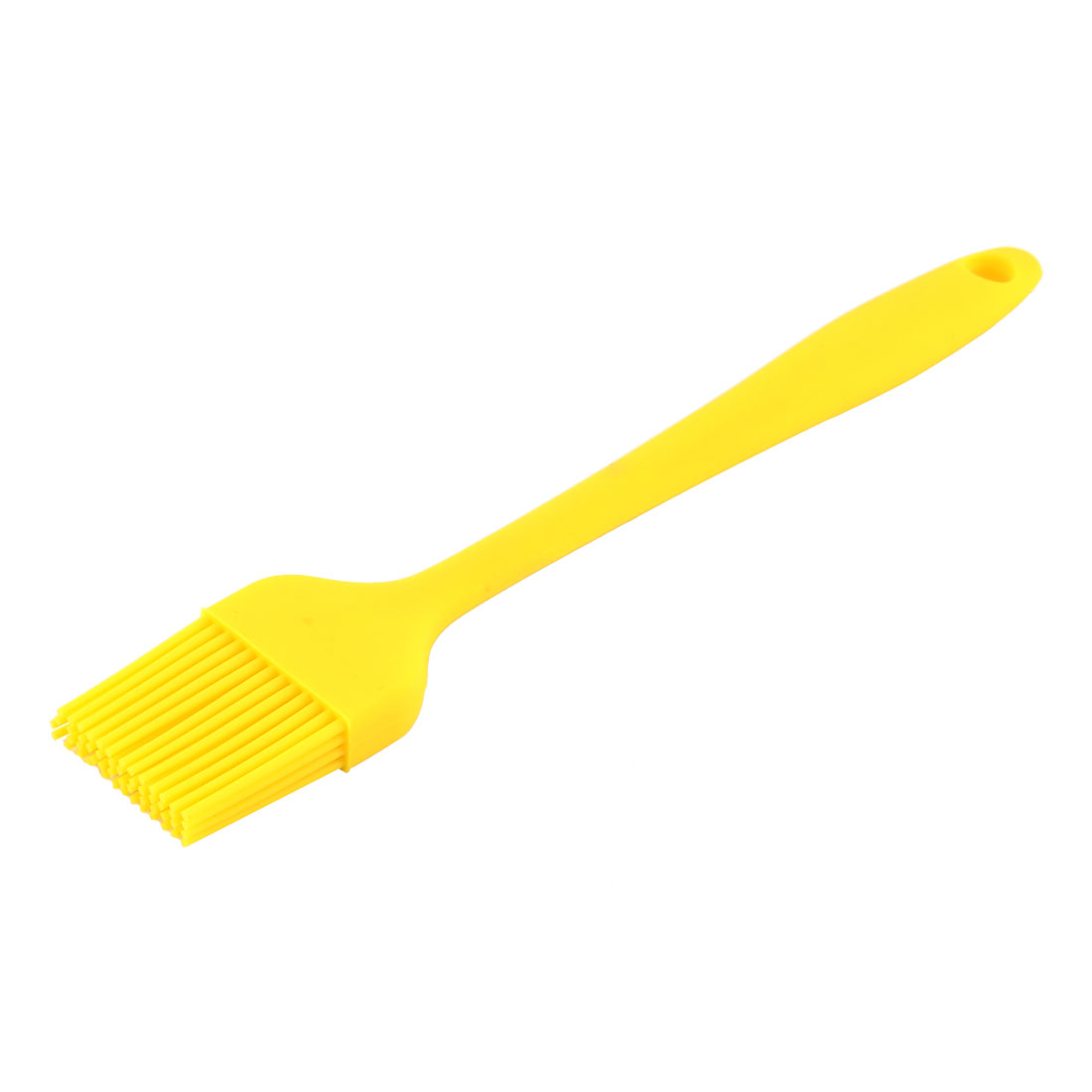 Silicone Heat Resistant Barbecue Grilling Basting Pastry Oil Brush Yellow