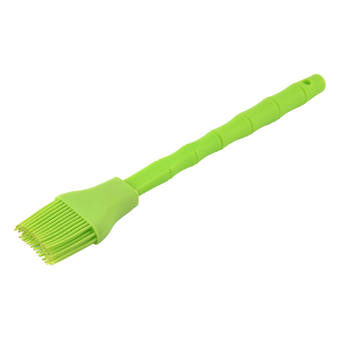 Plastic Handle Bamboo Shaped Heat Resistant Baking Pastry Basting Brush Green