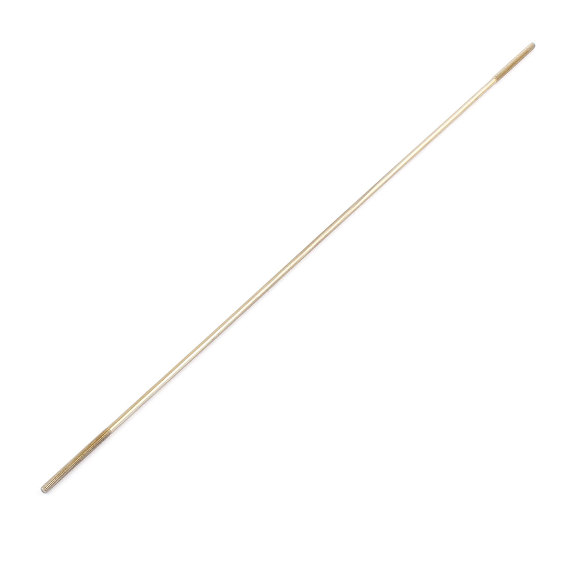 RC Airplane Parts 3mm Diameter Threaded Both End Metal Push Rod 300mm Length
