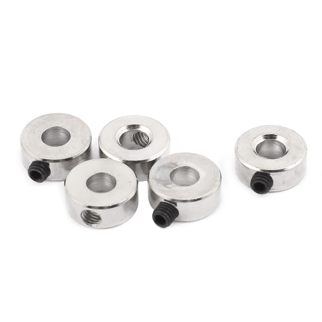 5 Pcs RC Airplane Landing Gear Wheel Stoppers 4.1mm Inner Dia 4.2x10mm w Screw