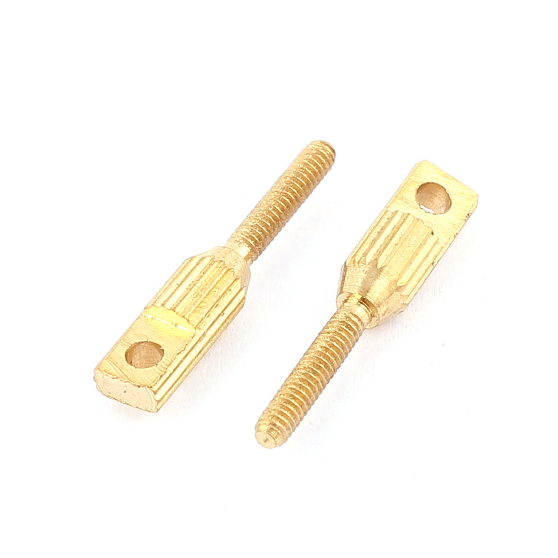 2pcs RC Model Aircraft 2mm Hole Dia M2 x L20mm Long Flat Head Close Loop Extender