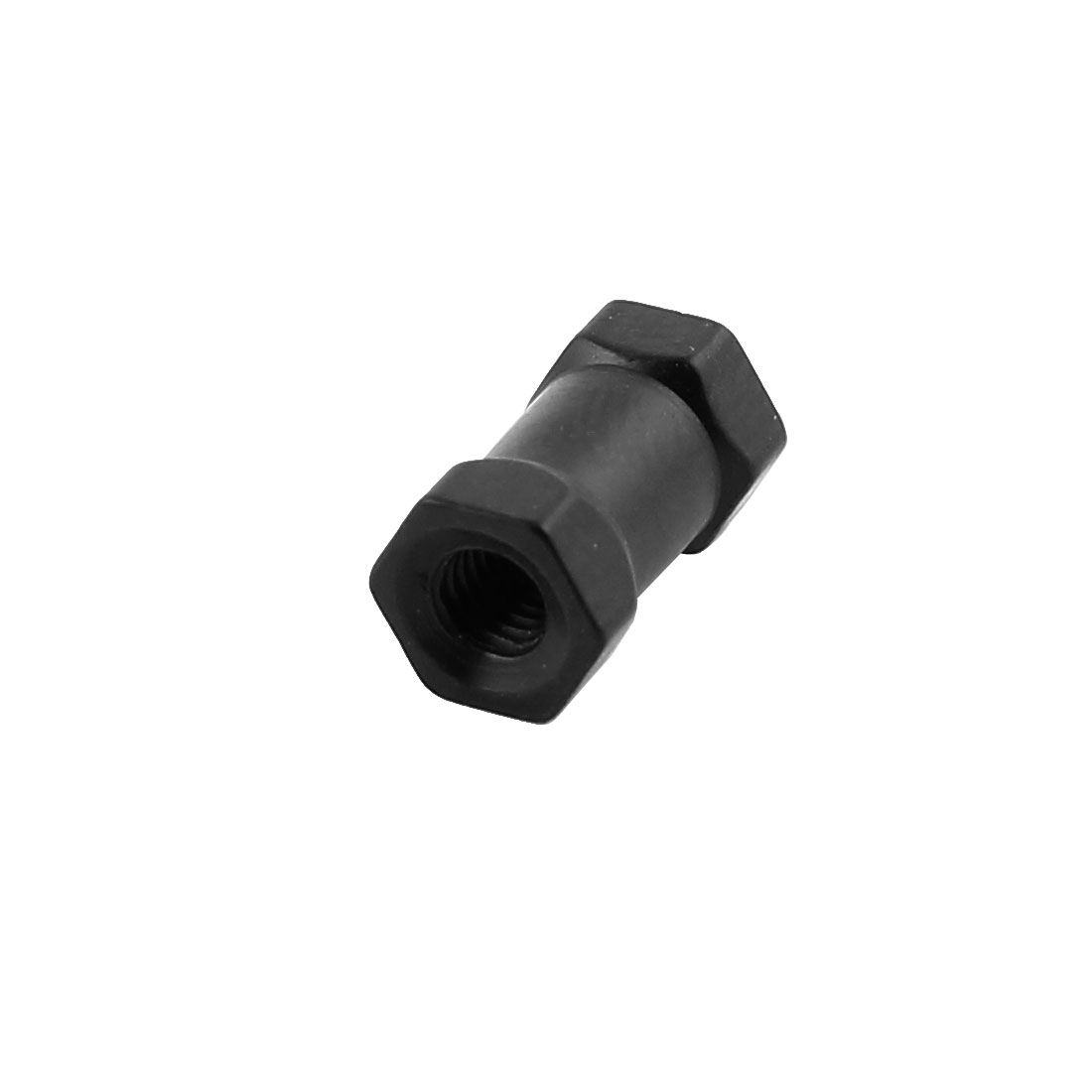 Black M3 x 10mm Female Thread Hexagonal Aluminum Column for Quadcopter