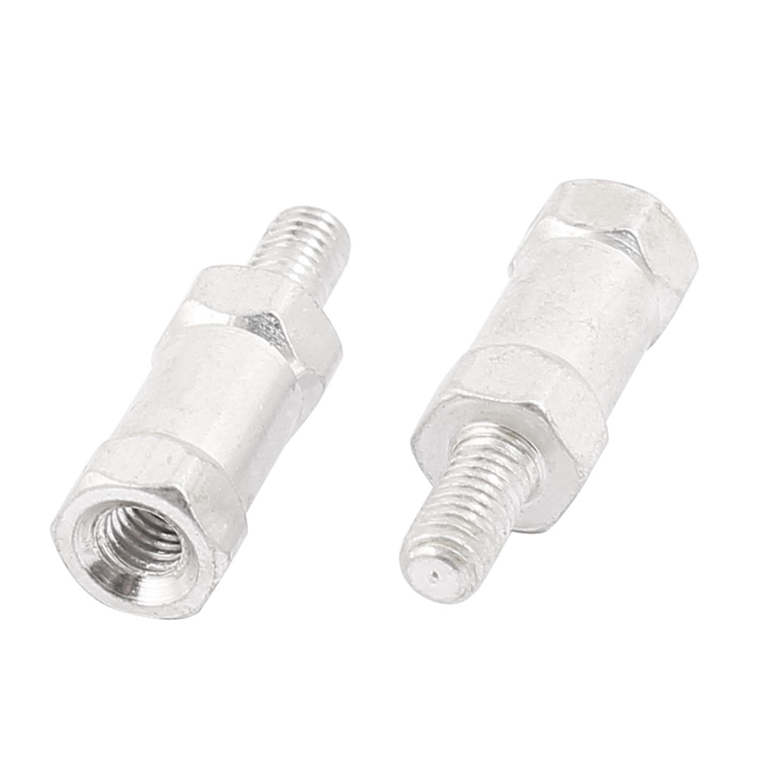 2 Pcs M3 Aluminum Alloy Male to Female Hexagonal Standoff 5.5 X 12 mm
