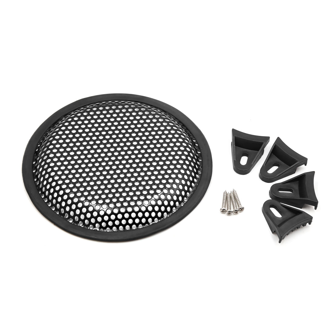 "6.5"" Car Audio Speaker Mesh Sub Woofer Subwoofer Grill Dust Cover Protector"