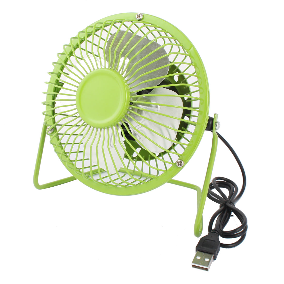 Computer Notebook Laptop Metal Mute USB Portable Mini Cooler Cooling Fan Green