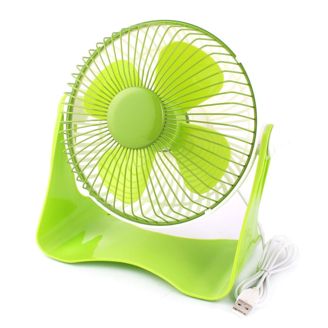 Computer Notebook Laptop U Shaped Portable USB Mini Cooler Cooling Fan Green White