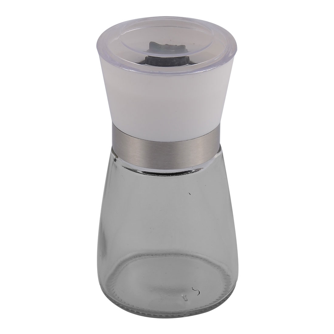 Household Kitchen Glass Handheld Spice Salt Pepper Mill Grinder Shaker Container Pot