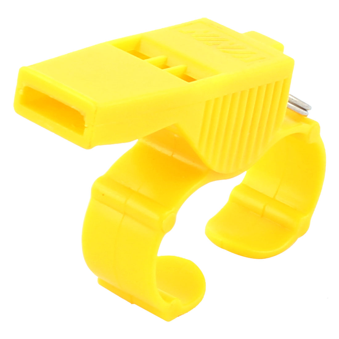 Basketball Match Sports Teachers Referee Coach Plastic Finger Whistle Yellow
