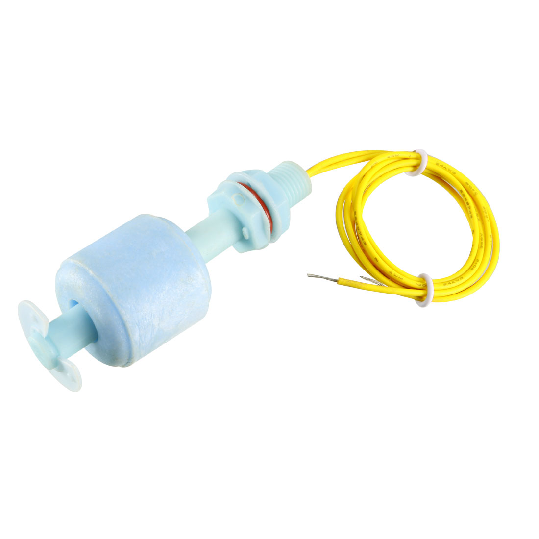 68mm PP Tank Pool Liquid Water Level Sensor Vertical Float Switch Blue