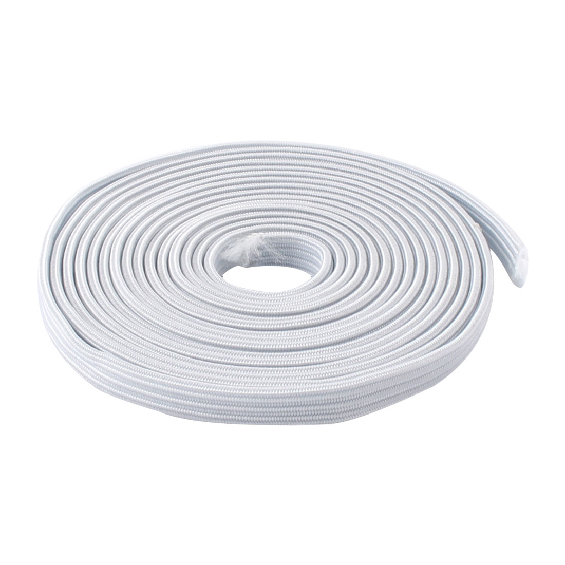 Household Clothing Sewing Knitting Craft Rubber Elastic Band White 9.4ft Length