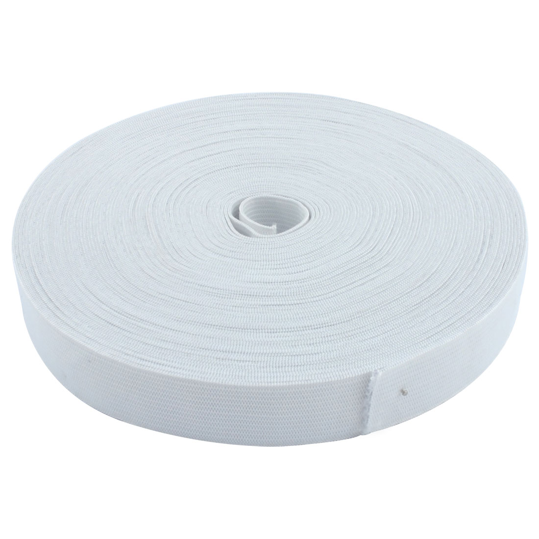 Sewing Trousers Pants Clothing Elastic String Strap Band White 19M 62Ft Long