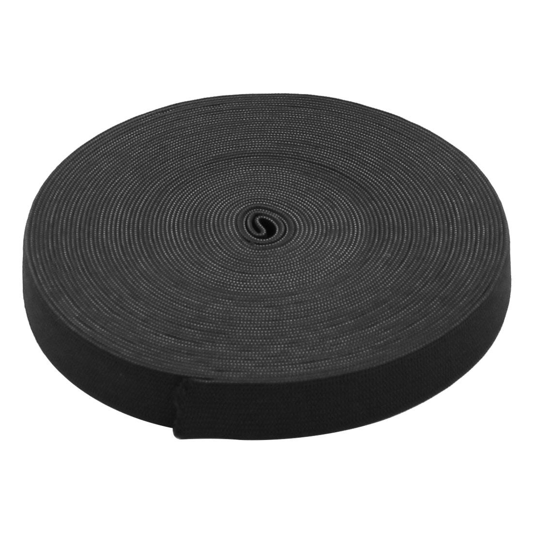 DIY Craft Elastic Spandex Lace Trim Tailor Sewing Applique Band 36ft Long Black