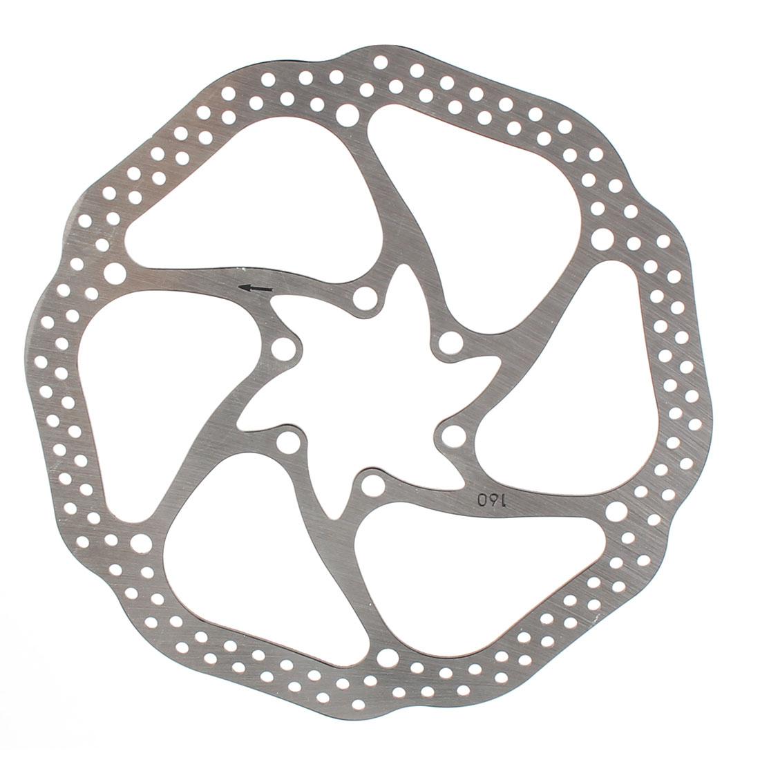 Cycling Mountain Bike Bicycle Brake Disc Metal Replacement Plate 160mm Diameter