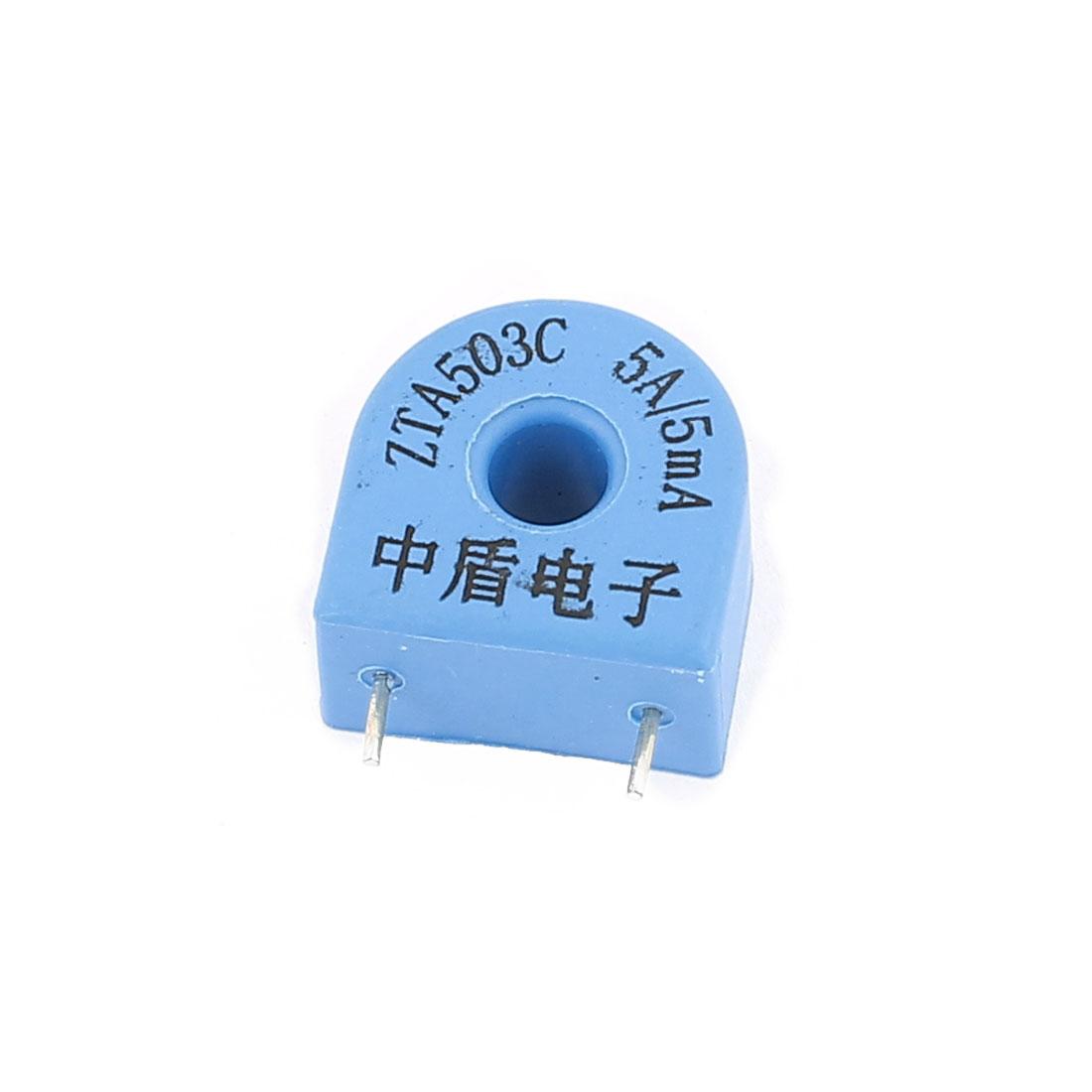 ZTA503C 5A/5mA 2 Terminal Precision AC Micro Current Transformer Sensor
