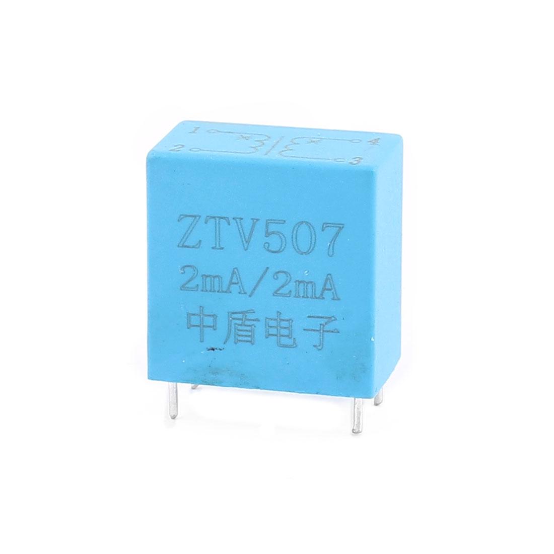 ZTV507 2mA/2mA 4 Terminal Precision AC Micro Current Transformer Sensor