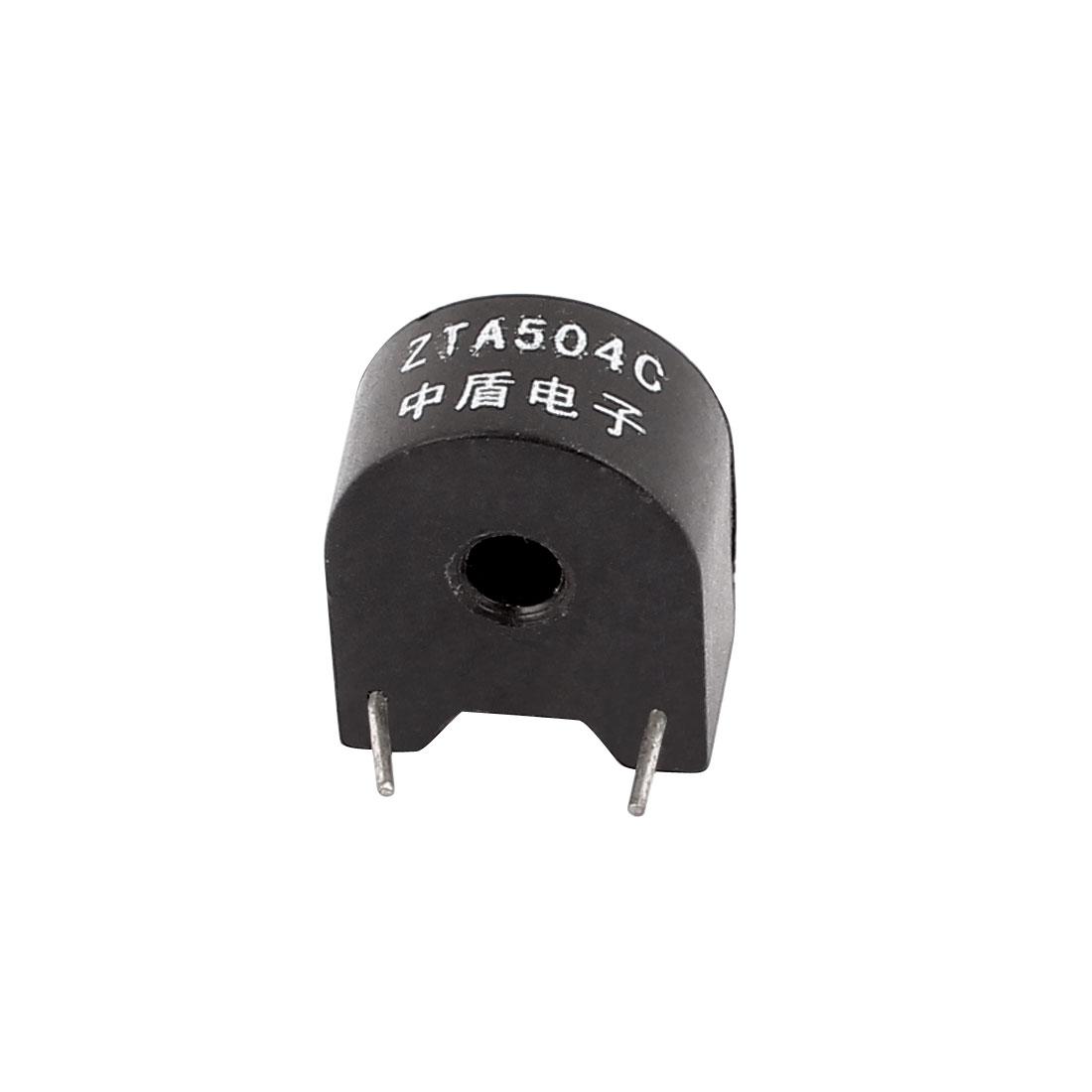 ZTA504C 5A/2.5mA 2 Terminal Precision AC Micro Current Transformer Sensor