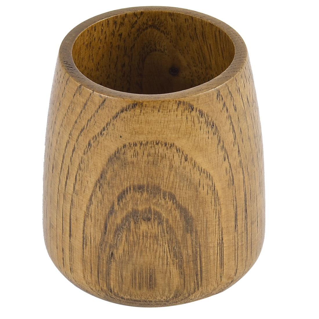 Restaurant Wood Grain Pattern Cylindrical Shaped Smooth Surface Drinking Wine Cup