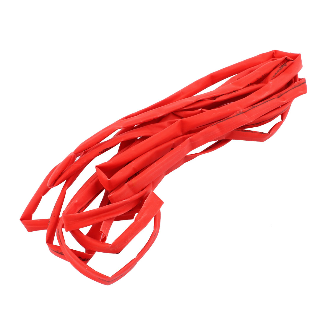 4.2M Length 12mm Dia Polyolefin Heat Shrinkable Tube Sleeving Red