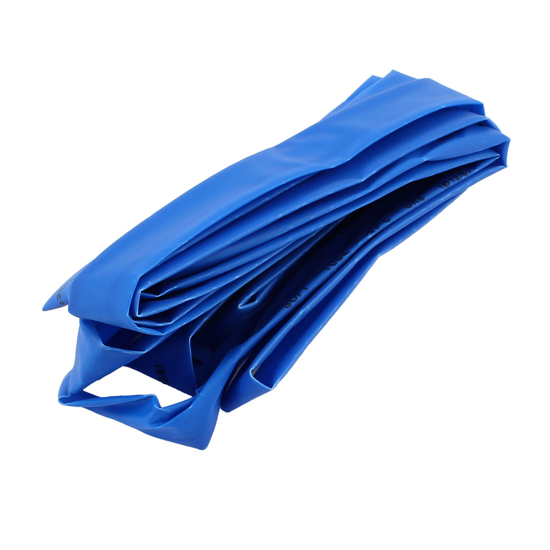 2.5M Length 12mm Dia Polyolefin Heat Shrinkable Tube Sleeving Blue