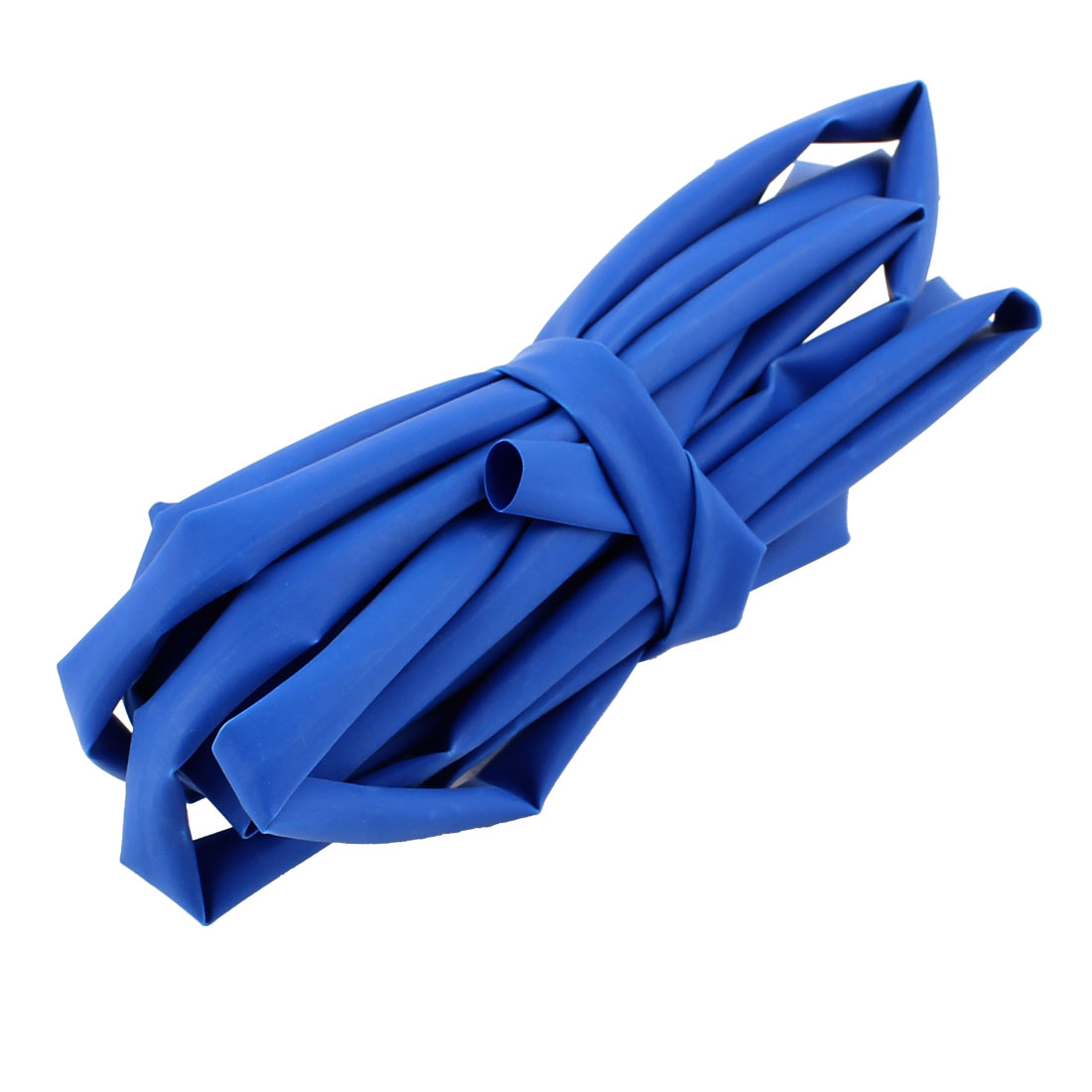 2.5M Length 6mm Dia Polyolefin Heat Shrinkable Tube Sleeving Blue
